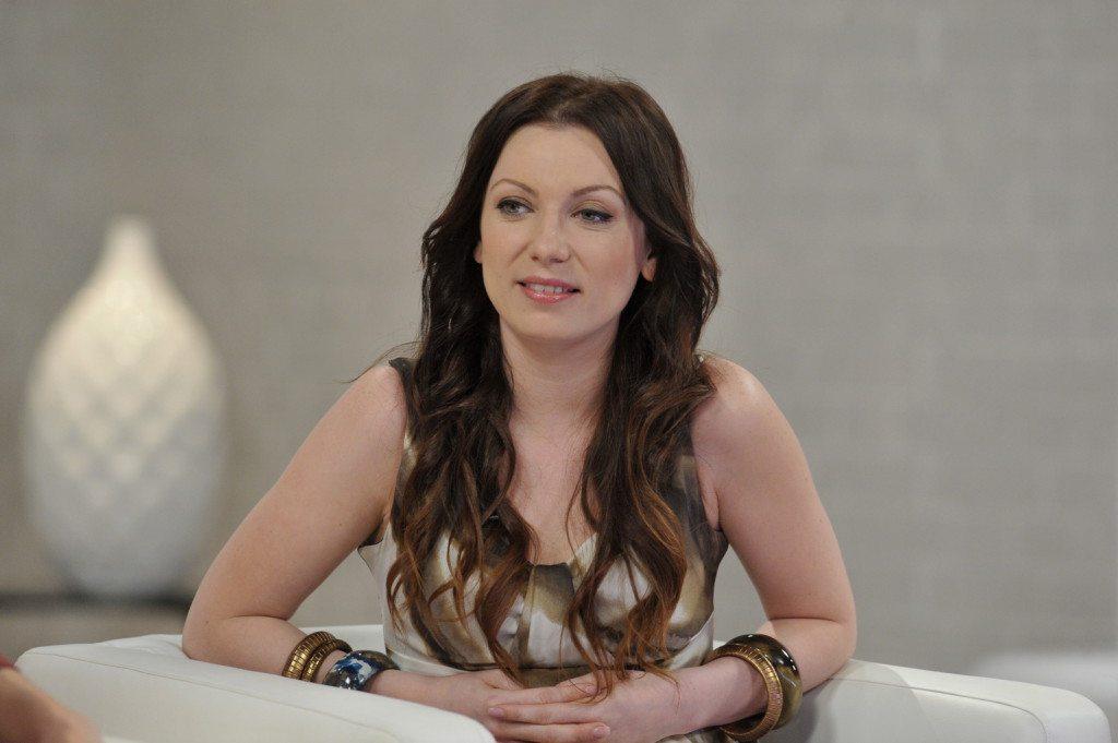 Rúzsa Magdi énekes az M1 televíziós csatorna Ridikül című női beszélgetős műsorában, az MTVA gyártóbázisának 7-es stúdiójában. MTVA Fotó: Zih Zsolt