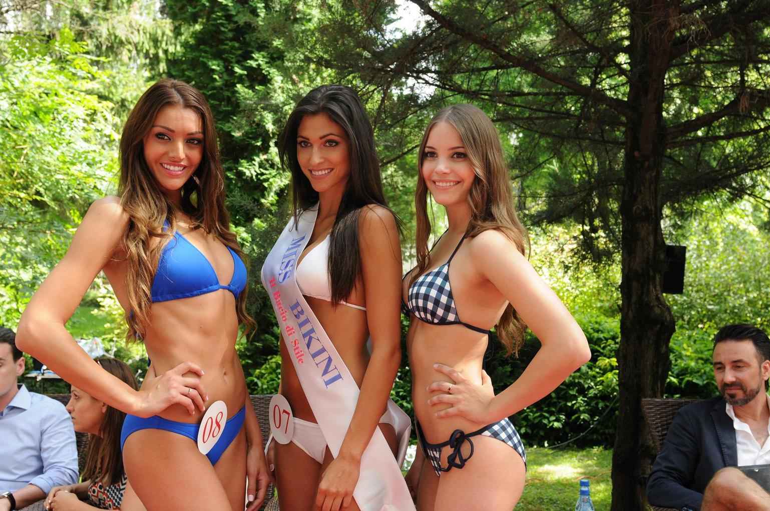 Magyaroszág szépe -  Il Bacio Di Stile Miss Bikini győztese Katona Gitta. (Fotó: Droblich Tímea)