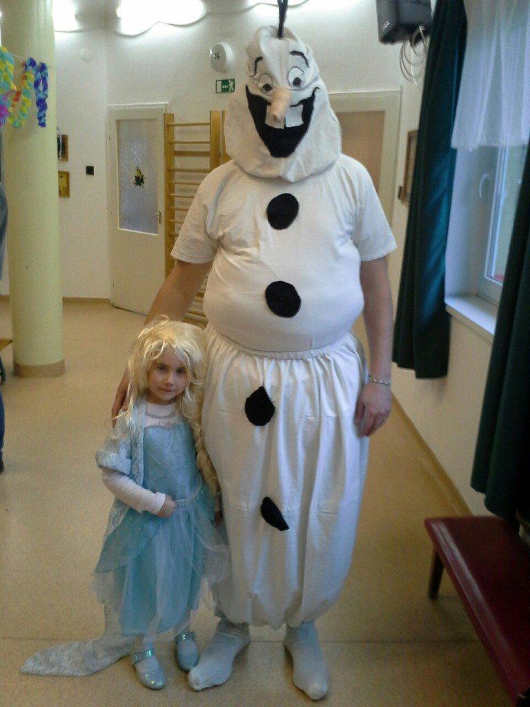 Elsa és Olaf a Frozenből - Nagy Anna és Nagy Béla (4 és 40)