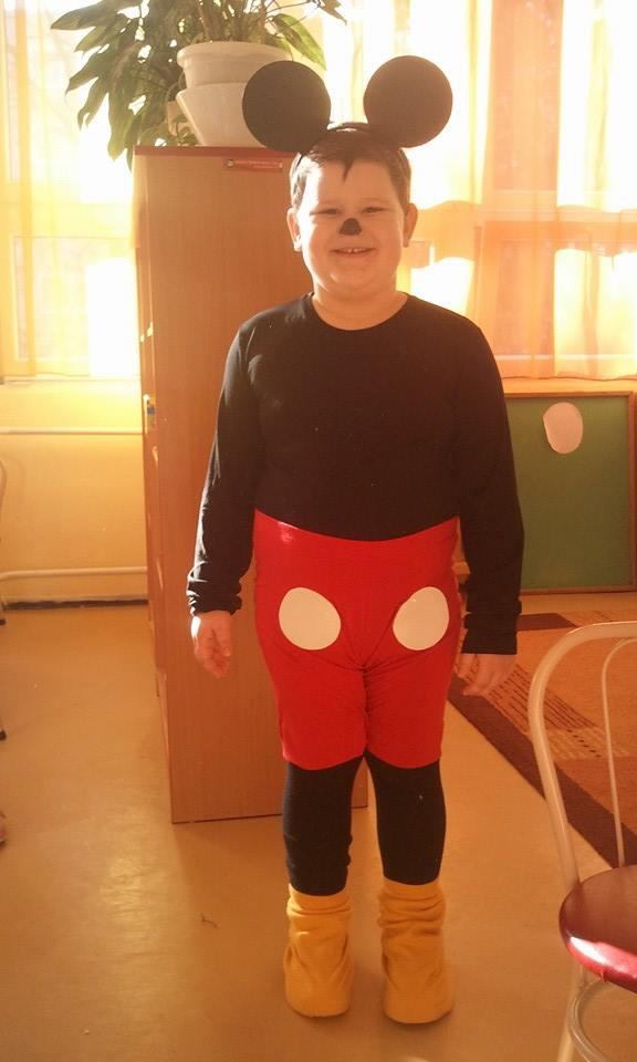 Gonda Olivér - Mickey egér (5 éves)