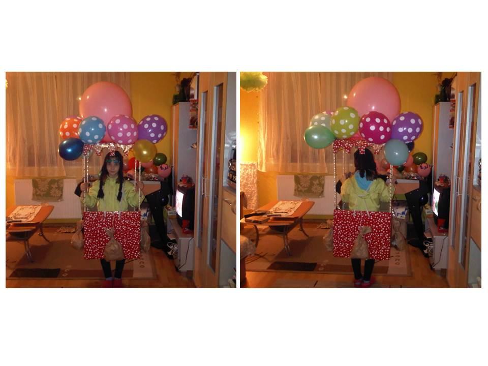 Hőlégballonos - Takó Zsófia, 3 éves