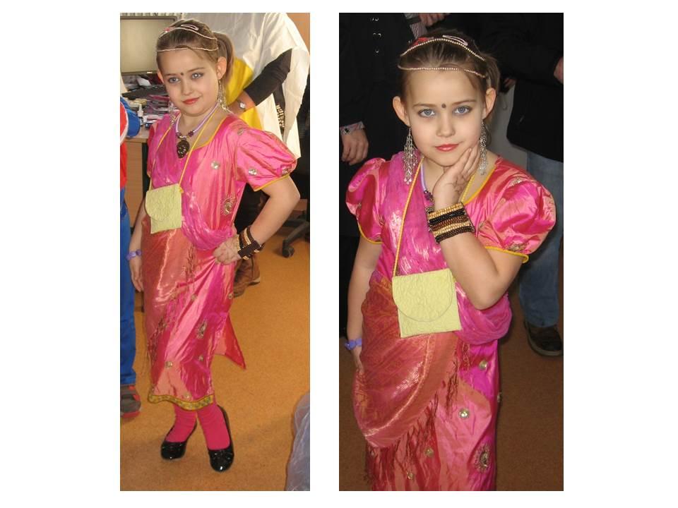 Nagy Lilla - Indiai hercegnő (Kiskunhalas, 1. osztályos)
