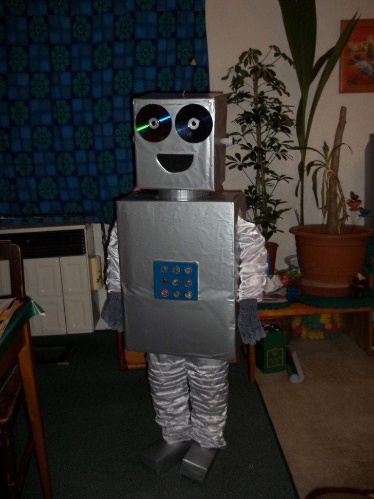 Nyiri Kristóf - Robot (8 éves, Szeghalom)