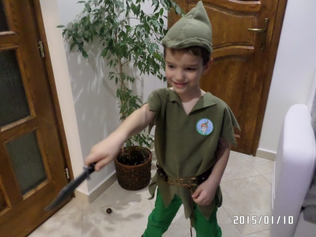 FARSANG - Varga Martin - Pán Péter (6 éves)