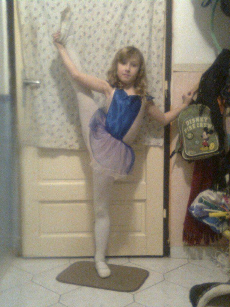 balerina - Kiss Mira Hajnalka, 7 éves