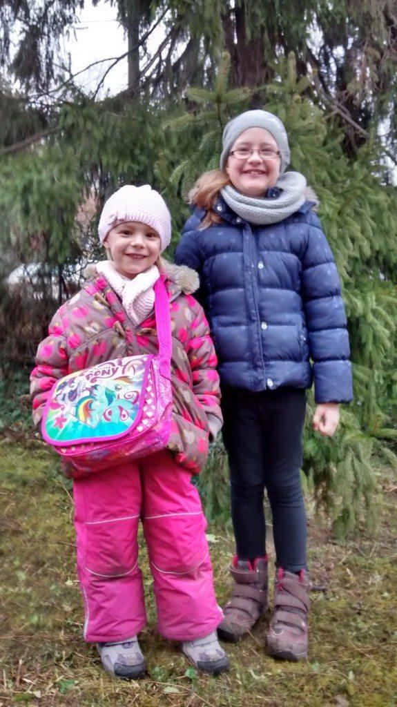 Gönczy Bori - 7 és fél éves és Gönczy Janka 6 éves