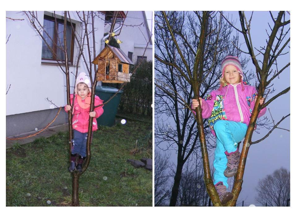 Nagy Enikő 4 éves és Nagy Tímea 6 éves