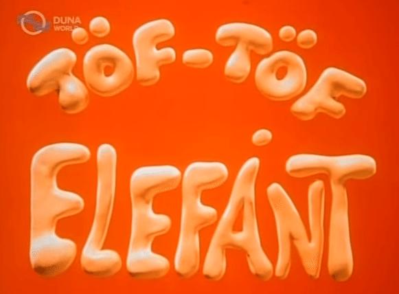 Sloník Tof Tof / Töf-Töf elefánt (1991- 1994)