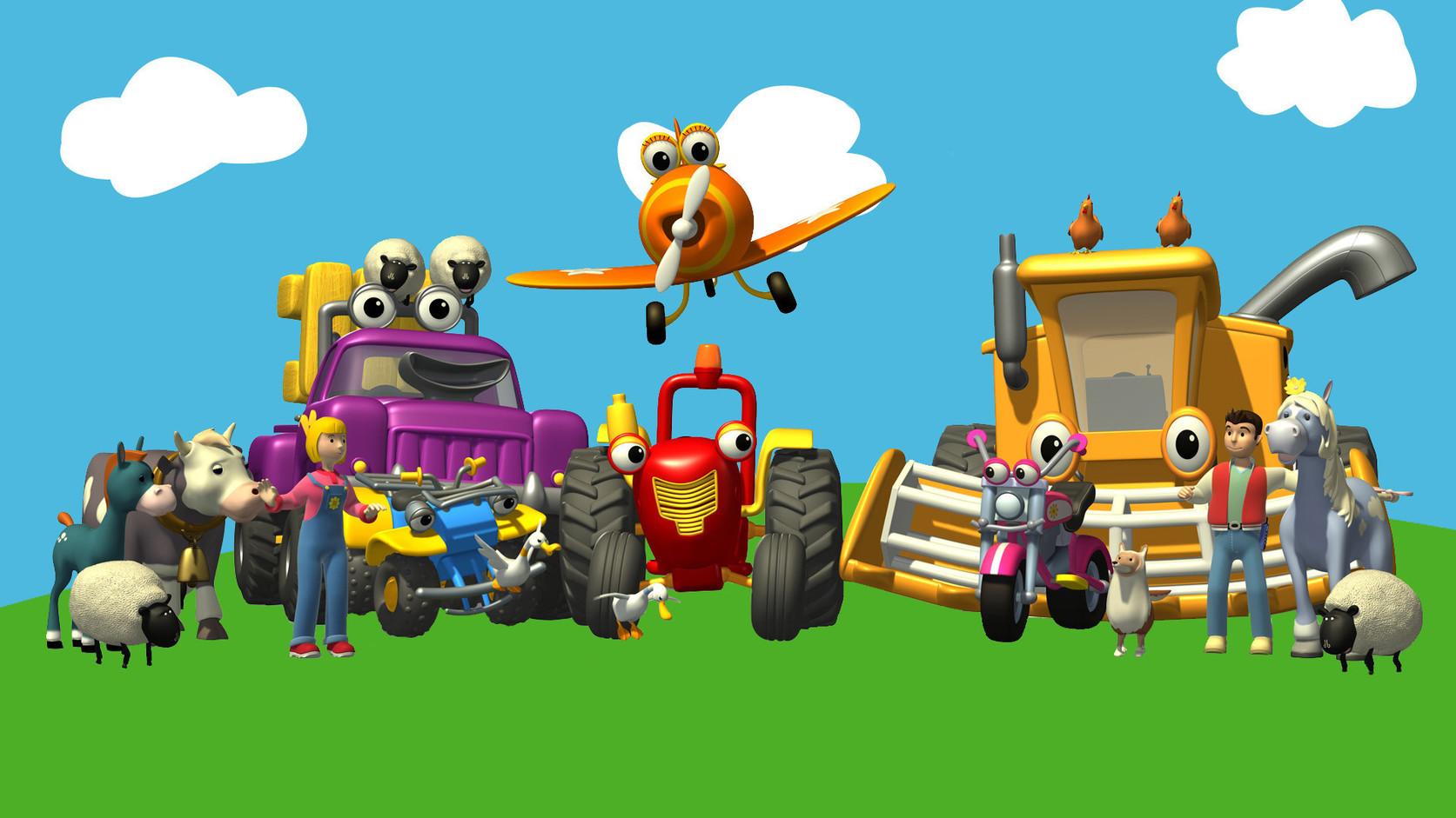 Traktor tom médiaklikk