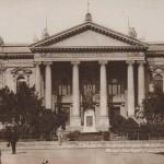 Nagyvárad - a színház archív képen