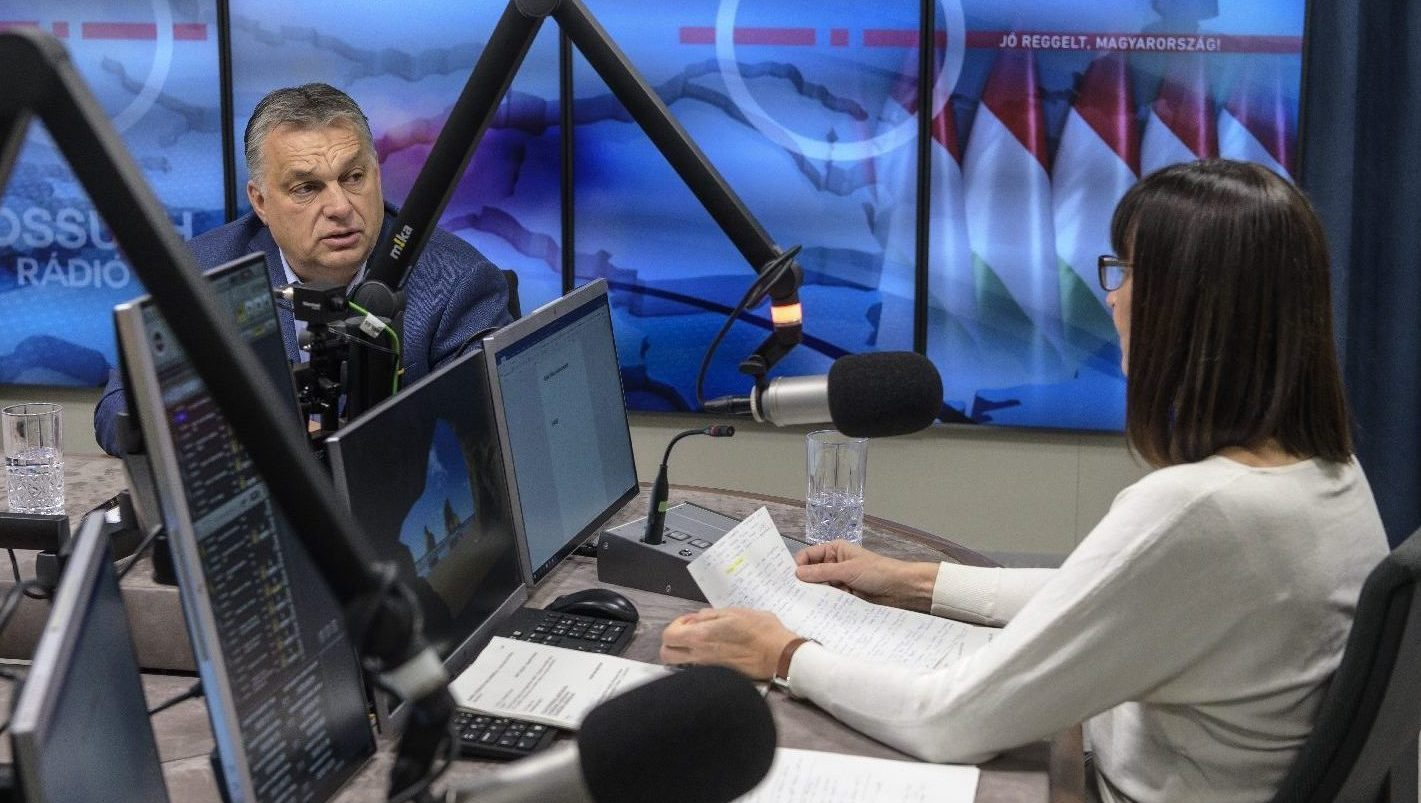 Orbán Viktor - miniszterelnöki interjú (Jó reggelt, Magyarország ...