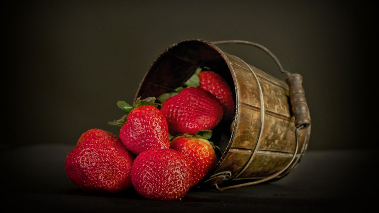 Hajnal-táj: Szamóca, vagy eper?
